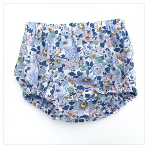 Bloomer culotte en Liberty betsy denim