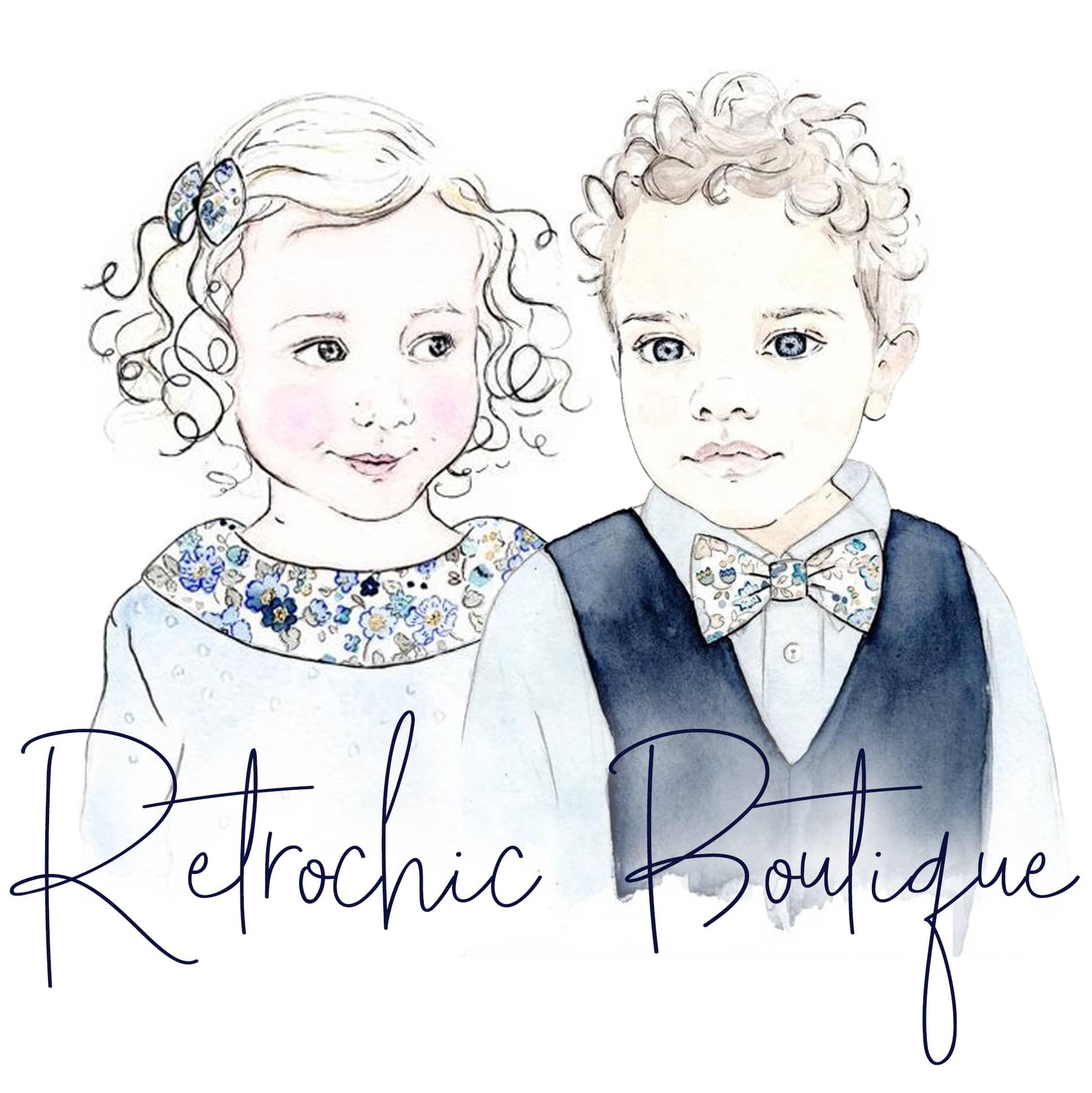 Retrochic Boutique - Mode intemporelle pour petits messieurs et demoiselles