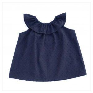 Top-en-plumetis-de-coton-noir-enfant-bébé-retrochic-boutique