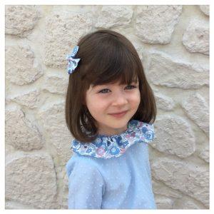 Blouse-en-plumetis-de-coton-bleu-orage-et-liberty-betsy-asagao-enfant-bébé-retrochic-boutique