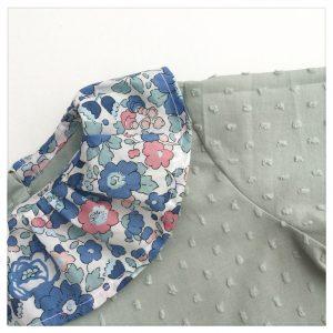 Blouse-en-plumetis-de-coton-vert-tilleul-et-liberty-betsy-asagao-enfant-bébé-retrochic-boutique