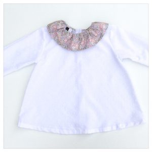 Blouse-en-plumetis-de-coton-blanc-et-liberty-michelle-rose-enfant-bébé-retrochic-boutique