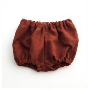 bloomer-shorty-lin-lavé-terracotta-bébé-enfant