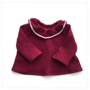 Blouse-en-gaze-de-coton-griotte-enfant-bébé-retrochic-boutique-