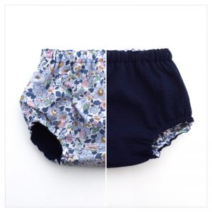 bloomer-réversible-gaze-de-coton-marine-et-liberty-betsy-denim