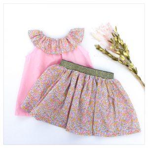 Top-en-plumetis-de-coton-rose-candy-et-wiltshire-bud-aurore-enfant-bébé-retrochic-boutique