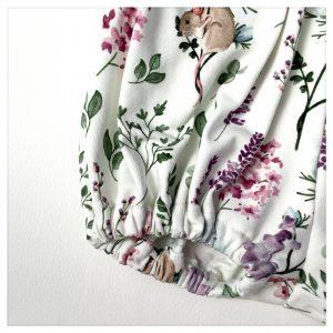 Bloomer en jersey de coton fleurs des champs
