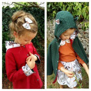 veste pour bébé et enfant coton bocage