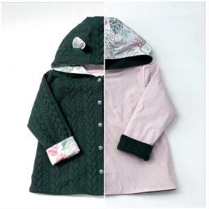 veste pour bébé et enfant coton caméleon