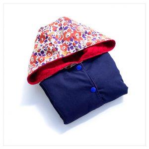 veste pour bébé et enfant rouge/marine/betsy automn