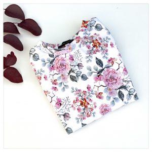 sweat pour bébé et enfant en sweat léger fleurs de cerisier