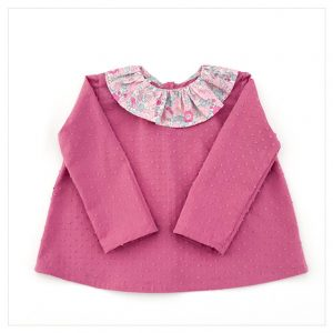 Blouse-en-plumetis-de-coton-rose-rétro-et-liberty-betsy-amélie-enfant-bébé-retrochic-boutique